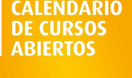 Calendario de cursos de Febrero a Mayo de 2018