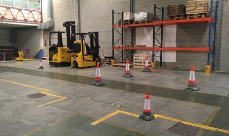 Nuevas instalaciones de Trekform para cursos de maquinaria y prevención